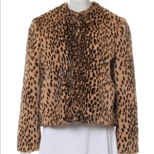 Michelle Mason Faux Fur Jacket (Never Worn)